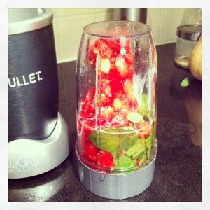 how to prepare fruits and vegetables for nutribullet