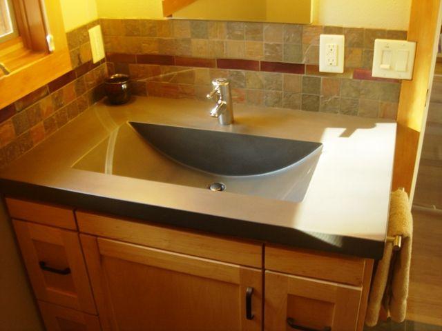 Bathroom Sinks Portland Oregon 12 best concrete sink swag images on pinterest | concrete sink