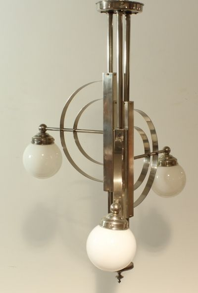 Art deco bauhaus lamp