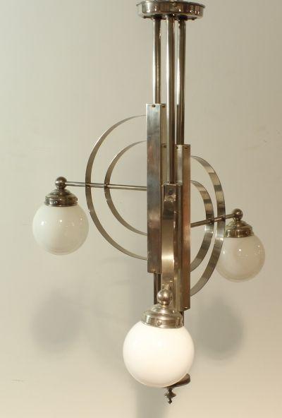 Art deco bauhaus lamp