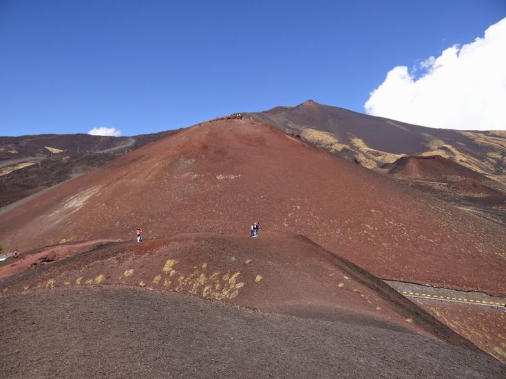 Etna ... walking on the Moon
