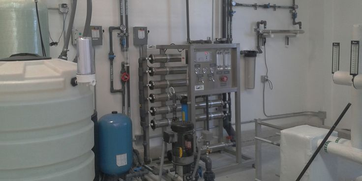 Sistema de Osmosis Inversa construccion de sistema de ósmosis inversa #kuanto #construccion