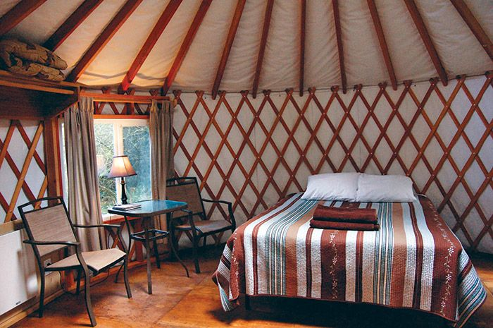 Cozy Yurt Camping http://nwtravelmag.com/cozy-yurt-camping/
