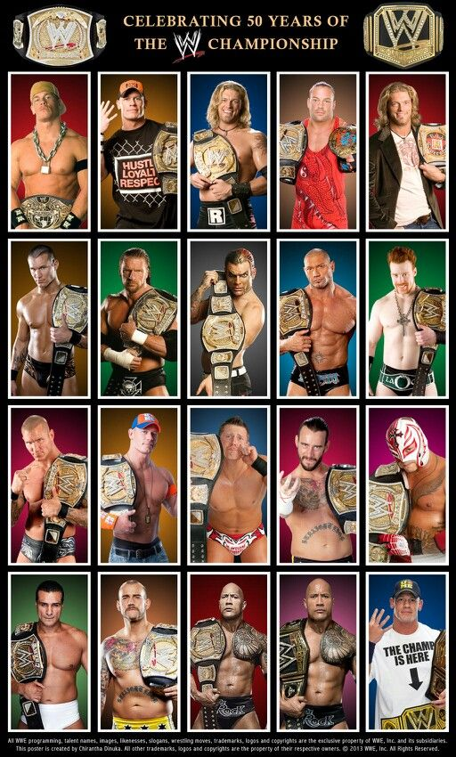 WWE CHAMPIONSHIP my favorite champ out of all of these guys is Jeff Hardy