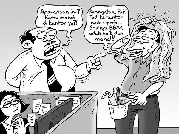 Kartun Benny, Kontan - November 2014: Efek BBM!