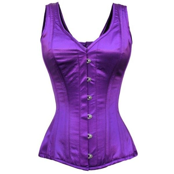 Purple corset top ❤ liked on Polyvore featuring tops, victorian top, lace up top, victorian corset, lace up corset top and evening tops
