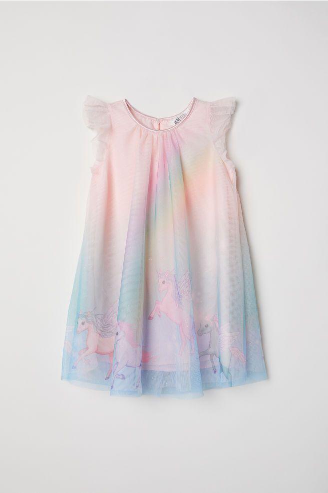 0ff3e018de74 Tulle dress - Pink Unicorns -