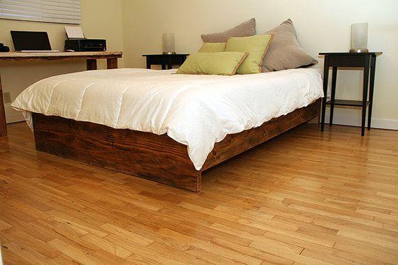 17 best images about rustic bedframe on pinterest modern bed frames bed frame with headboard. Black Bedroom Furniture Sets. Home Design Ideas