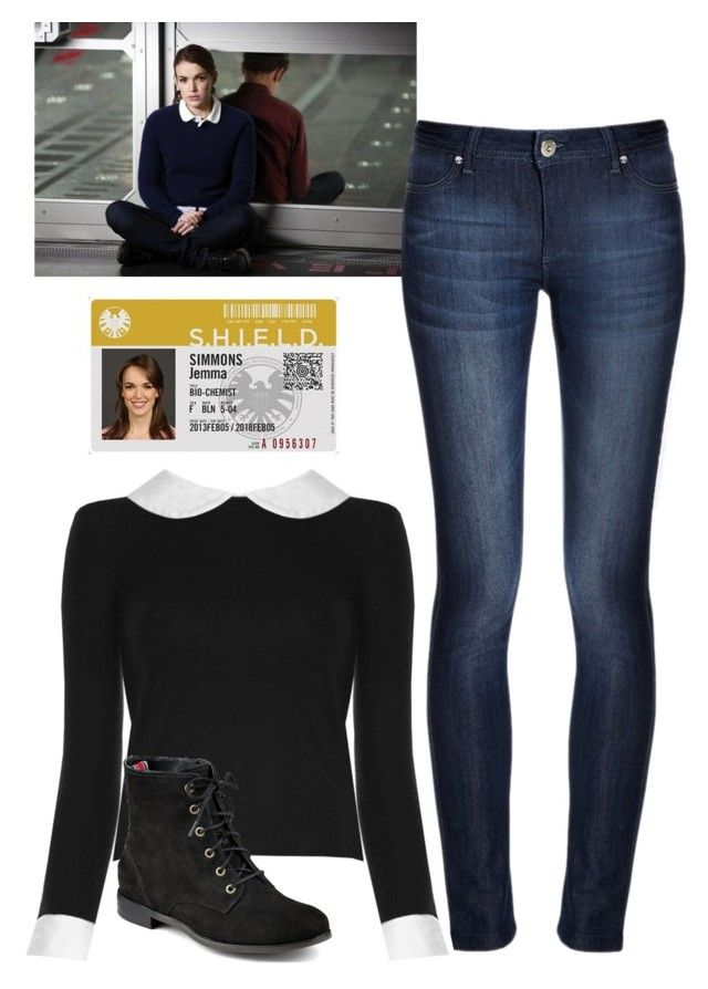 """""""Jemma Simmons ~ Agents Of S.H.I.E.L.D"""" by jacksangelwings ❤ liked on Polyvore"""