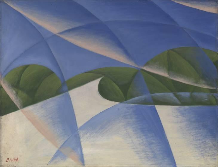 Giacomo Balla 1871-1958: Abstract Speed - The Car has Passed 1913
