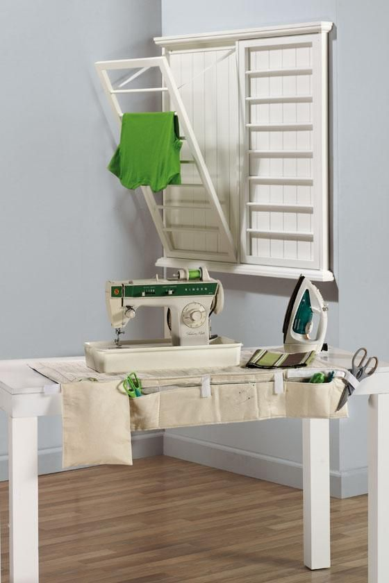 Pull Down Clothes Drying Rack Woodworking Projects Amp Plans