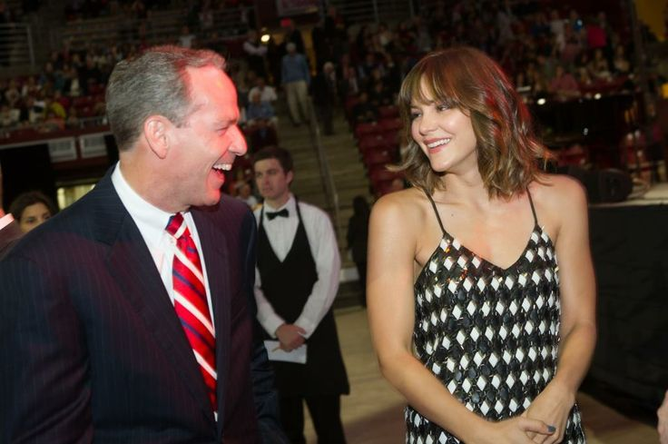 Co-chair of the Pops on the Heights event, John Fish with singer Katherine McPhee
