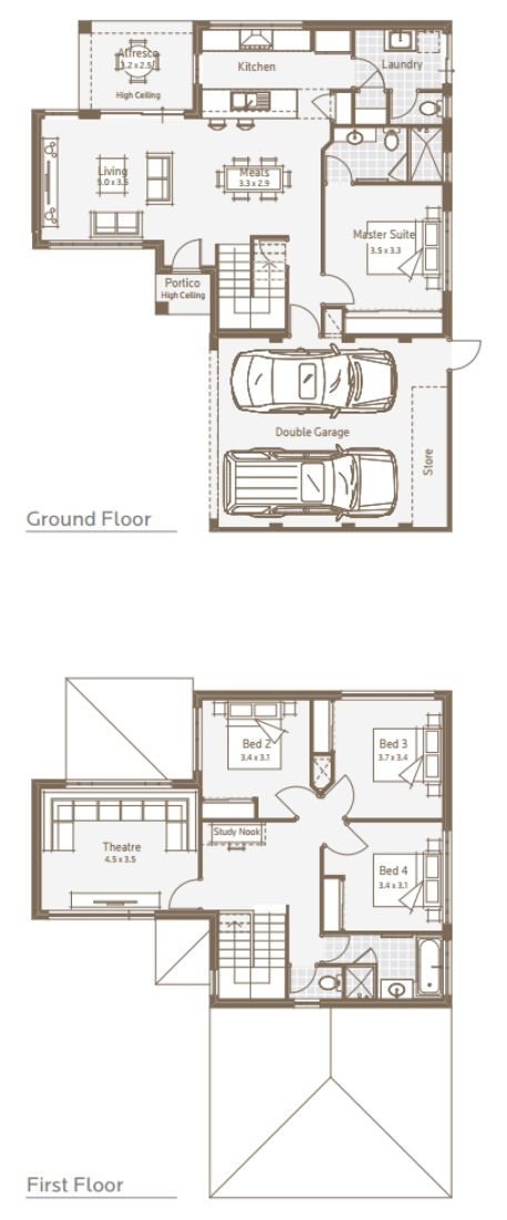 Duplex House Designs   Triplex House Designs   Battle Axe House Designs