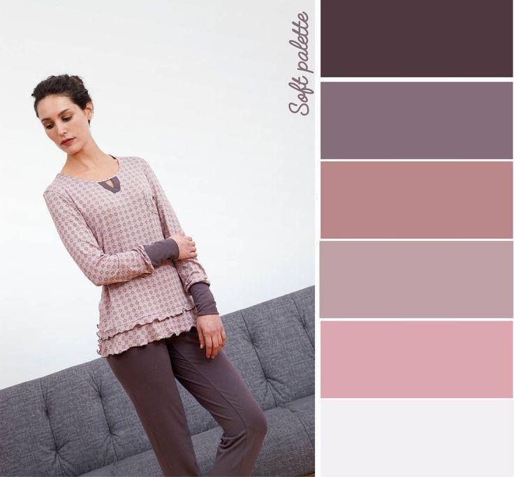 Cosy soft pink palette  #egatex