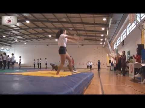 Desporto Escolar - Trampolins - Quinta do Conde 16-03-2013
