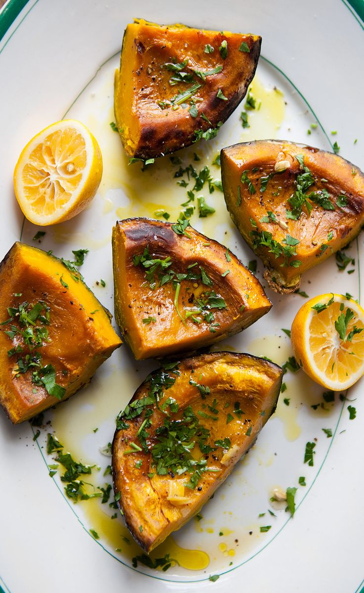 Roasted Kabocha Squash | Kabocha Squash has a rich, firm flesh that's not watery. We prepare the squash like we would prepare meat to concentrate the texture and flavor. After trying this recipe, it's sure to be your favorite squash too.