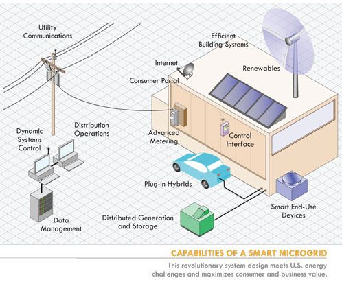 Is this the year of the Microgrid?  A microgrid is a system of systems that manages its energy generation, distribution, and use internally.