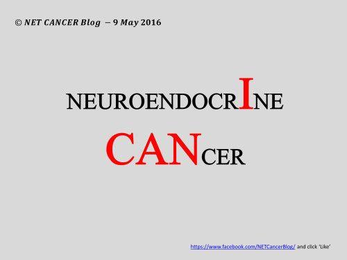 NEUROENDOCRINE I CAN