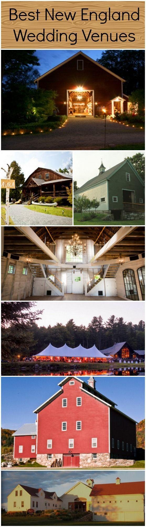 The Top 10 Best Wedding Venues In New England www.rusticweddingchic.com