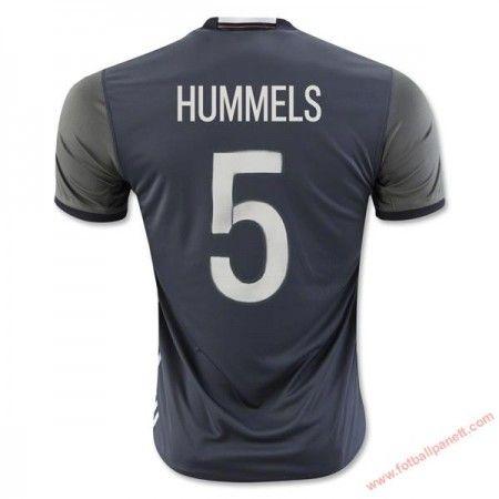 Tyskland 2016 Hummels 5 Bortedrakt Kortermet.  http://www.fotballpanett.com/tyskland-2016-hummels-5-bortedrakt-kortermet-1.  #fotballdrakter