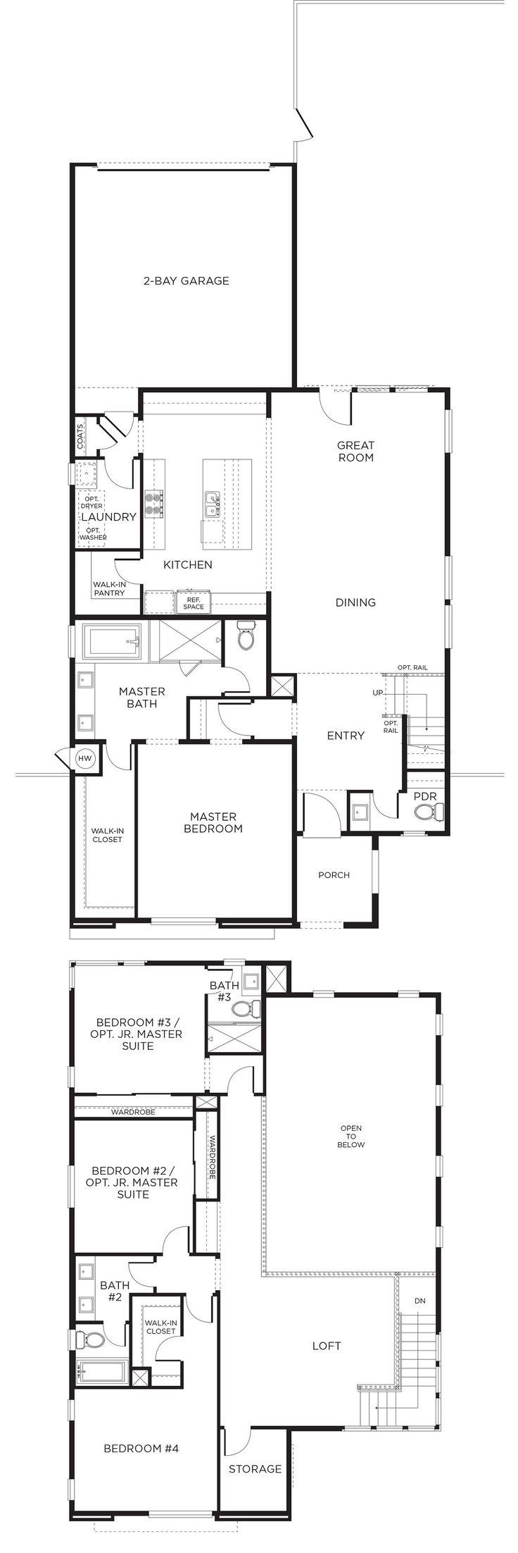 439 best las vegas pardee homes images on pinterest for Las vegas home floor plans