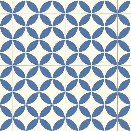 Kensington | Victorian Ceramic Tile Effect | Cushioned Flooring | Sheet Vinyl Lino | Best4flooring UK