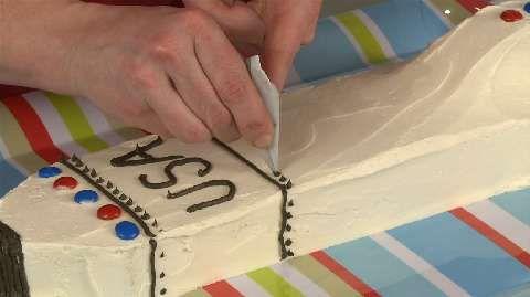 How to Make a Space Shuttle Cake Allrecipes.com