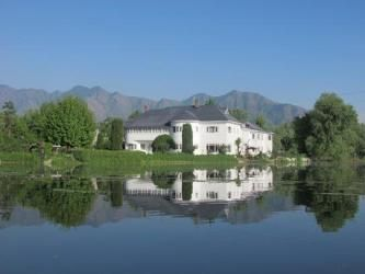 View of Hotel Dar-Es-Salam, Jammu and Kashmir, India