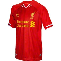 NEW ARRIVAL: Liverpool FC Warrior Sports 2013-2014 Home Replica Jersey  http://www.fansedge.com/Liverpool-FC-Warrior-Sports-2013-2014-Home-Replica-Jersey-_-720146659_PD.html?social=pinterest_pfid25-17762