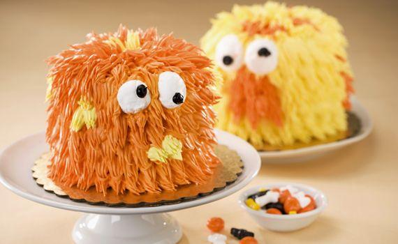 Torta di Halloween per bambini a forma di mostro, la ricetta   I dolcetti di Paola