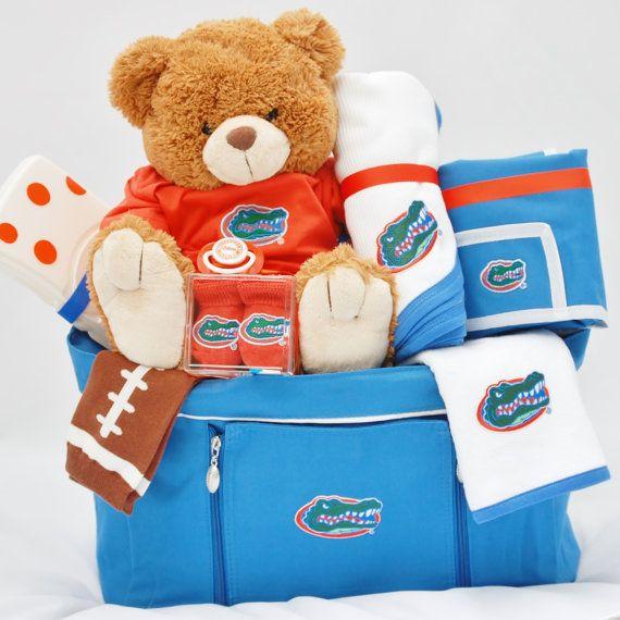 Baby Gift Basket Florida : Best growing gator fan images on florida
