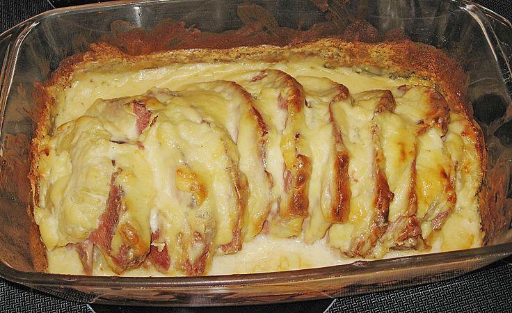 Kasseler mit Ananas in Käse - Soße, ein sehr leckeres Rezept aus der Kategorie Schwein. Bewertungen: 6. Durchschnitt: Ø 4,0.