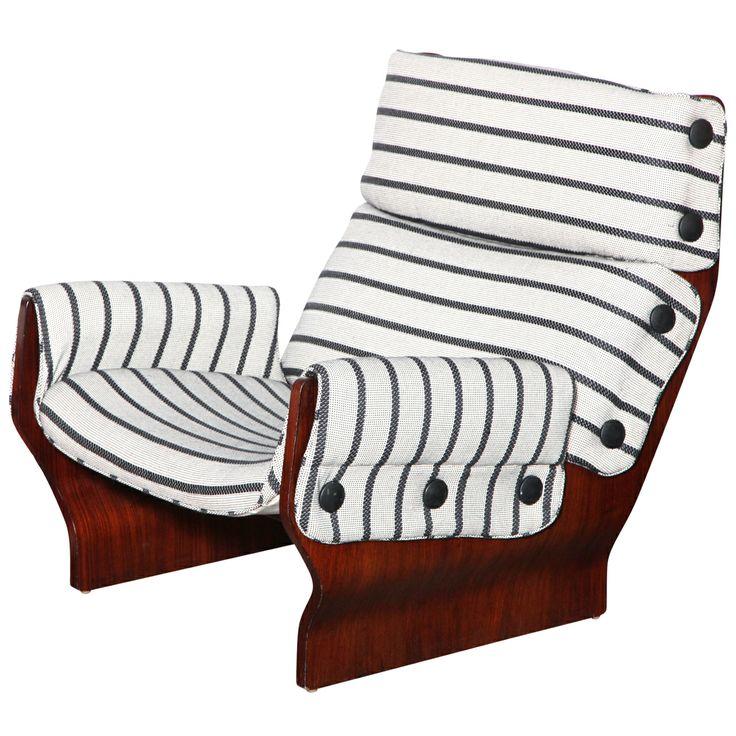 Canada Chair by Osvaldo Borsani for Tecno.  c.1965