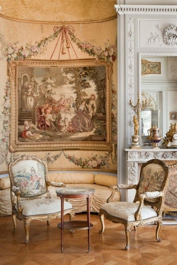 Another French inspired room with a great