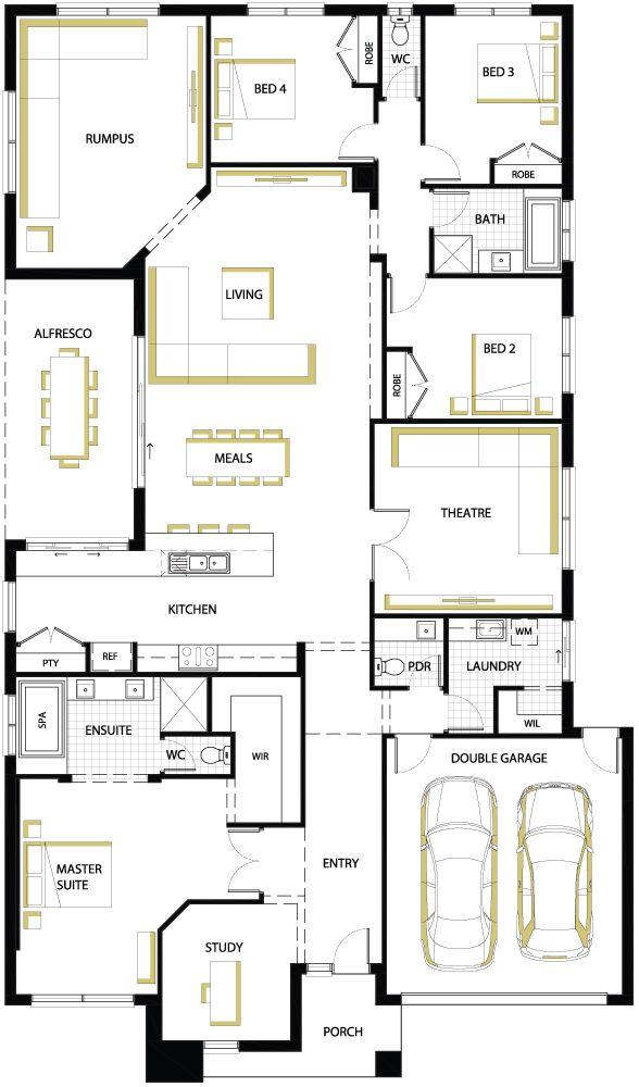 6041 besten ev plan bilder auf pinterest kleine h user. Black Bedroom Furniture Sets. Home Design Ideas