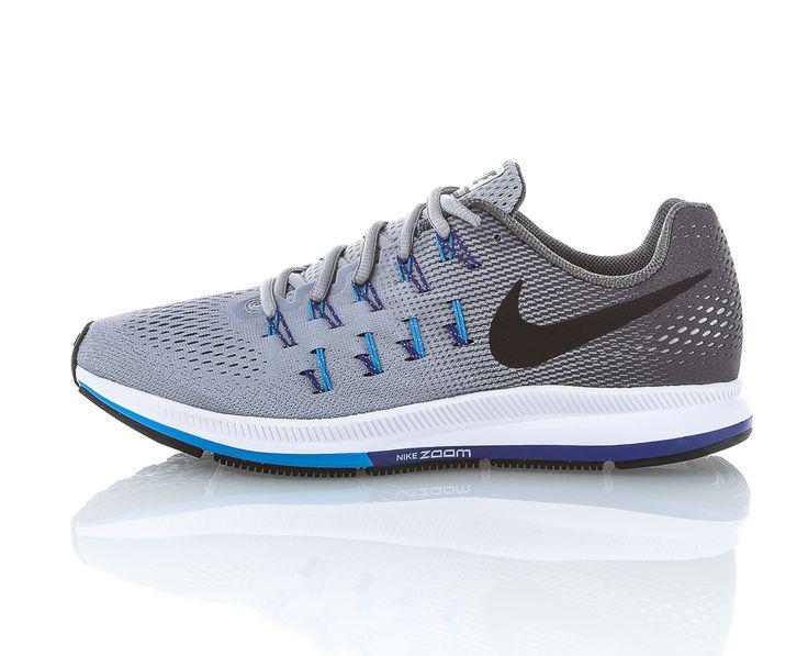 Nike - Air Zoom Pegasus 33   Löparskor   Grå/Blå   Sportamore.se