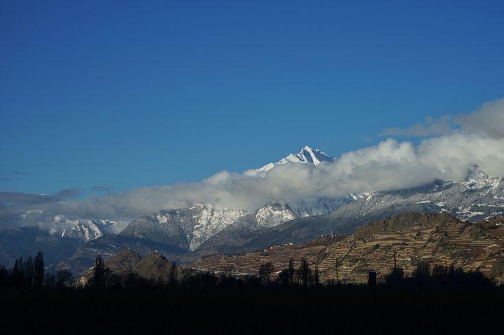 Schweiz  Suisse Switzerland Wallis Valais Winter Sion