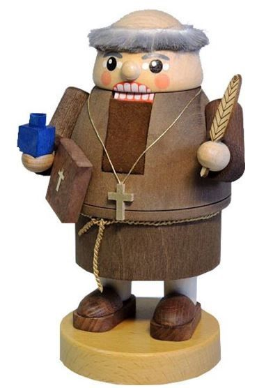 Martin Luther Holding Bible German Wood Christmas Nutcracker