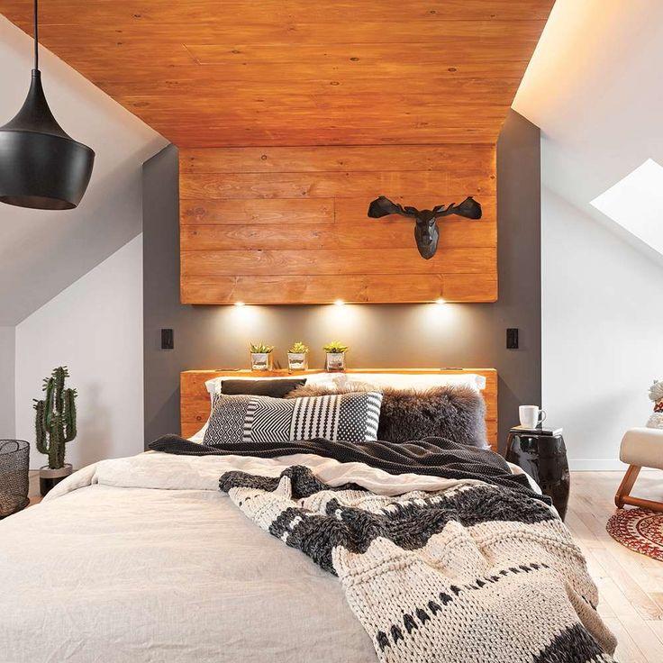 Vous aimerez aussi :En étapes: réaliser des caissons muraux - Aménagement: Sandra Lemay, designer, 418 802-8416. Conception et réalisation du lit et du caisson en...