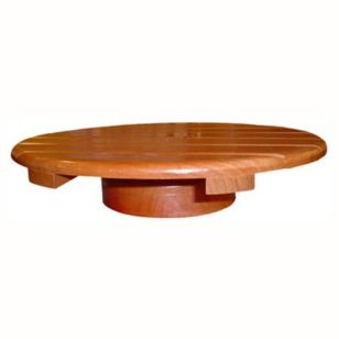 Tornamesa de madera-Sodimac.com
