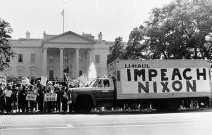 The Process for Impeaching the President of the United States: President Nixon Faced Impeachment Threat Over Watergate