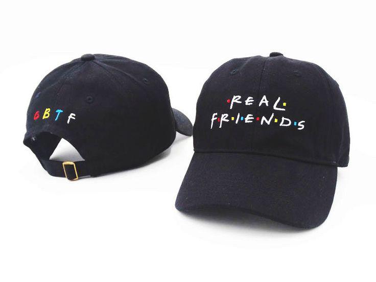 2016 Brand Real Friends Hat Trending Rare Baseball Cap I Feel Like Pablo Snapback Cap Kanye Tumblr Hip Hop Dad Hat Men and Women