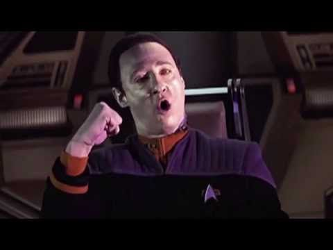 ▶ Star Trek: Insurrection - Picard, Worf, and Data sing A British Tar by Gilbert and Sullivan - YouTube