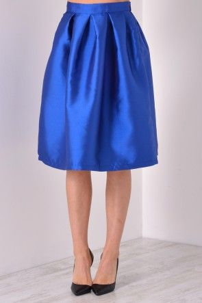 Marley Full Skirt in Royal Blue