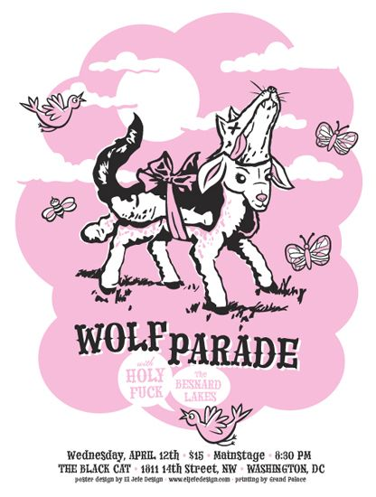 Wolf Parade poster