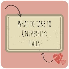 What to take to University: Halls and Bedroom