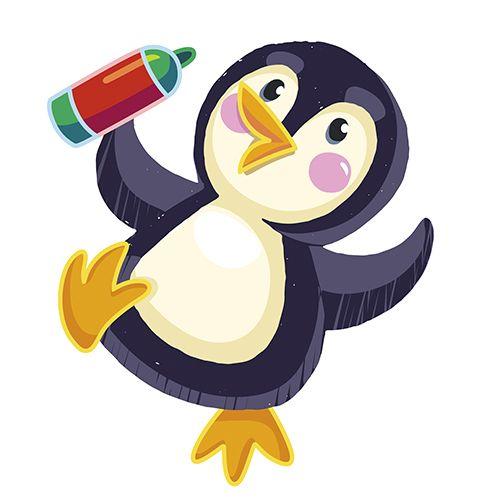 Посмотреть иллюстрацию Shippovnik - пингвинчик. Персонаж для игры
