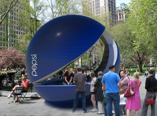 Pepsi Pop up - We love shops and shopping - seanmurrayuk.com & www.facebook.com/shoppedinternational