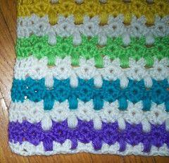 Kittens in a row chrochet pattern