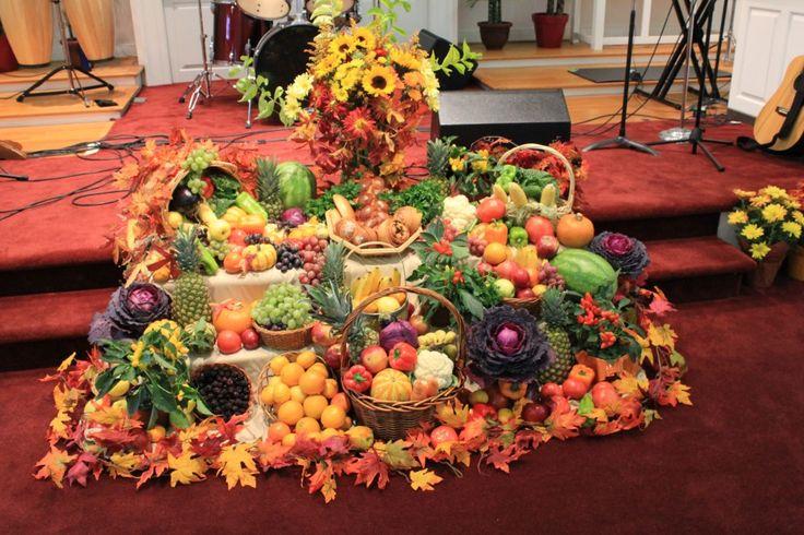 Праздник -День Благодарения! Жатва